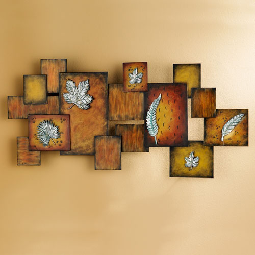 Brown Abstract Wall Art Panel