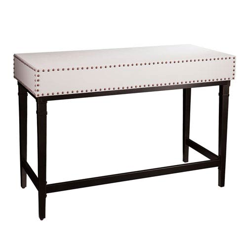 Southern Enterprises Walnut Fold Out Convertible Desk