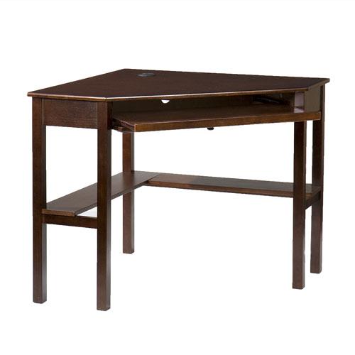Espresso Corner Desk
