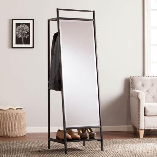 Drake Mirror/Hidden Coat Rack