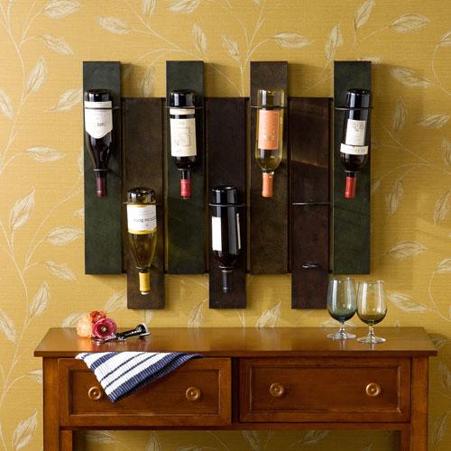 Earth Navarra Wall Mount Wine Rack