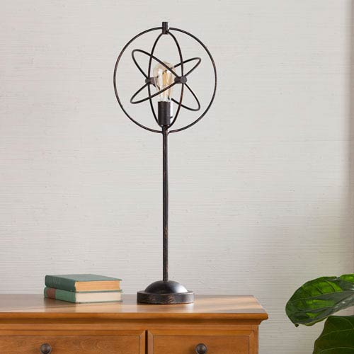 Southern Enterprises Burnaby Orb Table Lamp