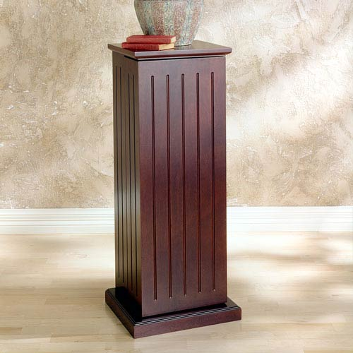 Cherry Media Storage Pedestal