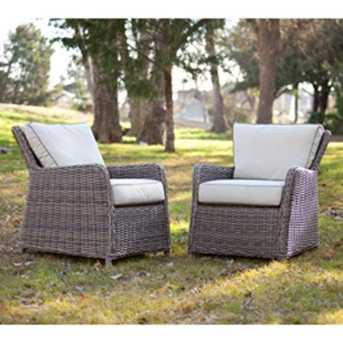 Avadi Khaki Chairs, Set of Two