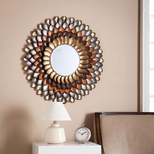 Albion Round Decorative Mirror