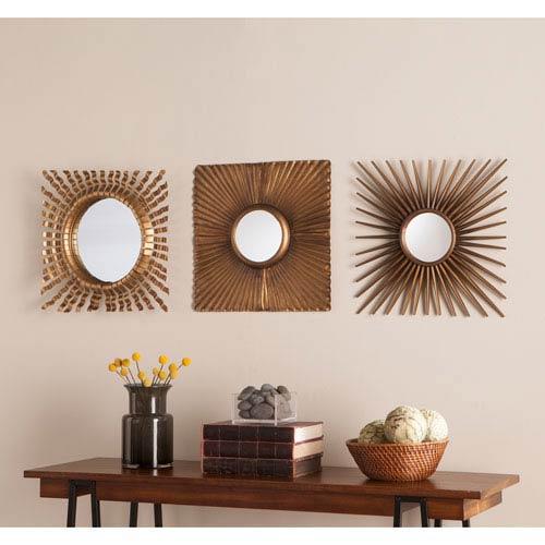 Lorzy 3pc Decorative Mirror Set