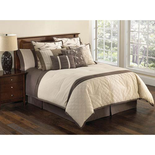 Verbena Queen Nine Piece Comforter Set