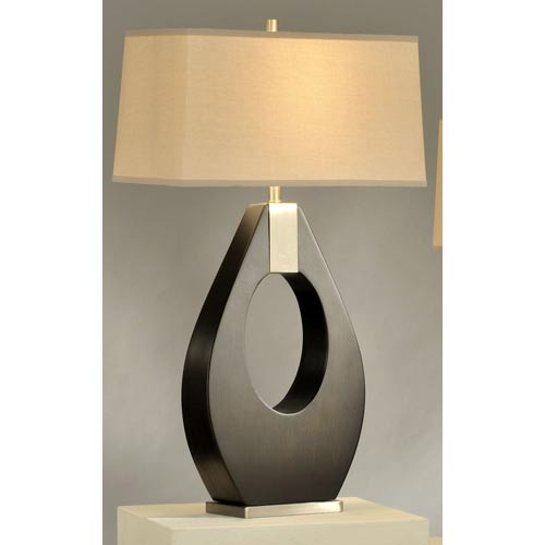 Pearson Pecan One-Light Table Lamp