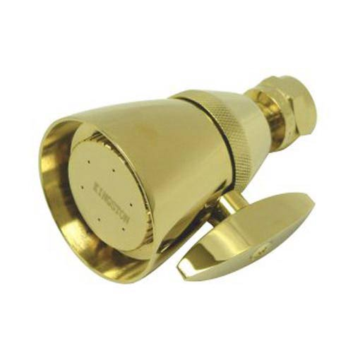 Hot Springs Victorian Polished Brass Showerhead