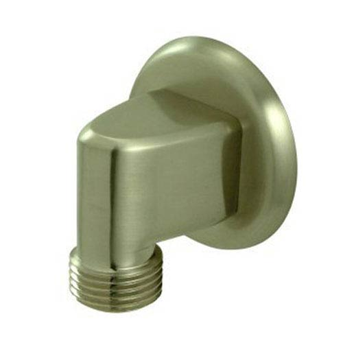 Made to Match Satin Nickel Brass Supply Elbow