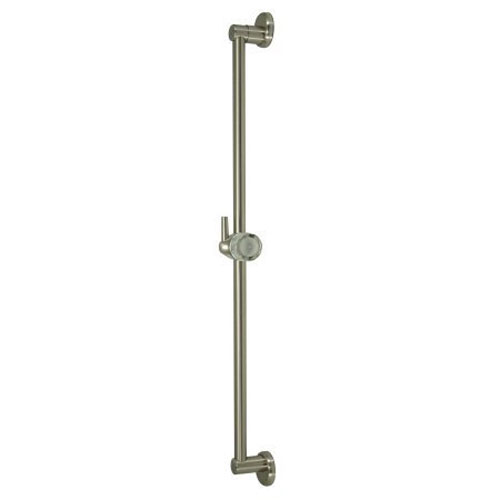 Elements of Design Satin Nickel 24-Inch Classic Wall Bar With Pin