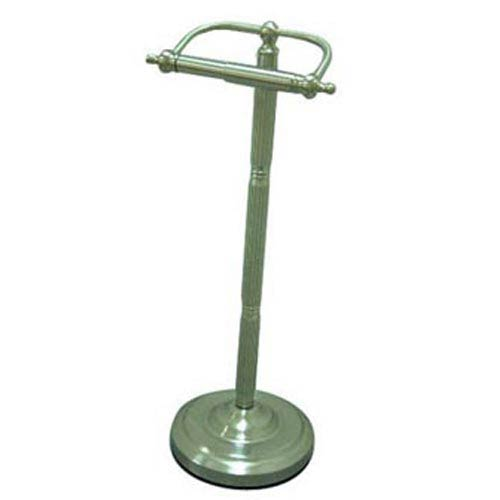 Elements of Design St. Louis Satin Nickel Pedestal Toilet Paper Holder