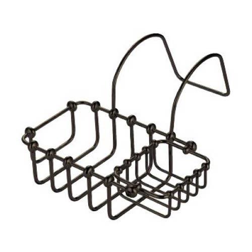 St. Louis Dark Bronze 7-Inch Swivel Soap Basket