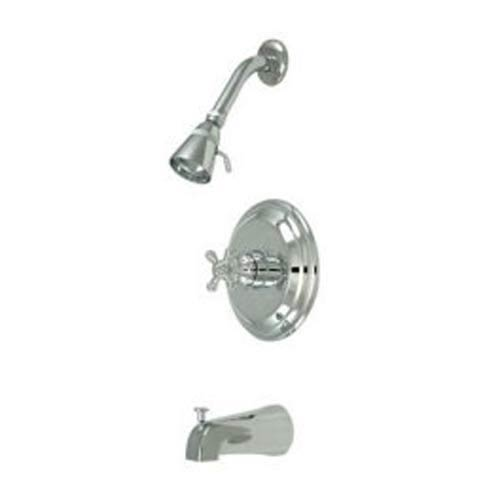New York Chrome Pressure Balanced Tub and Shower Faucet