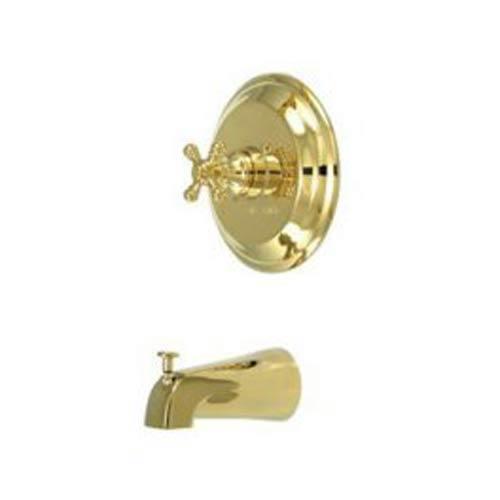 New York Polished Brass Pressure Balanced Tub Faucet