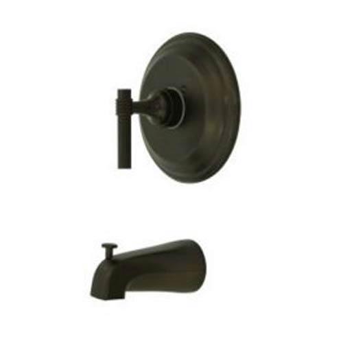 Milano Oil Rubbed Bronze Pressure Balanced Tub Faucet