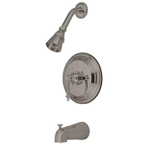 Tampa Satin Nickel Single Handle Tub & Shower Faucet