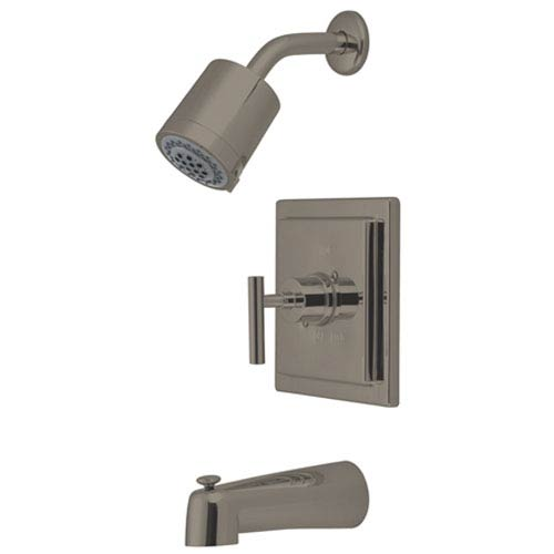 Elements of Design Sydney Satin Nickel Tub and Shower Faucet
