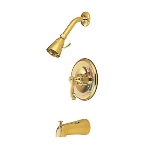 Atlanta Polished Brass Trim Only for Single Handle Shower Faucet