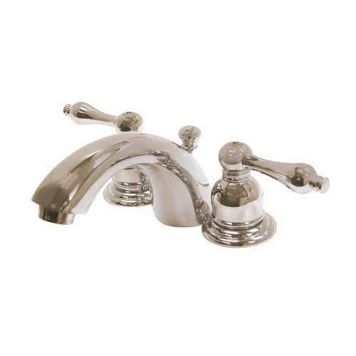 Elizabeth Satin Nickel Mini Bathroom Faucet