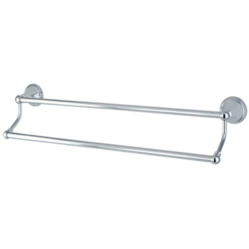 Copenhagen Polished Chrome 18-in Dual Towel Bar