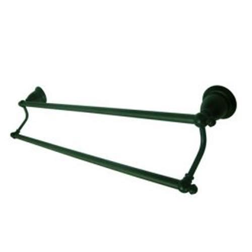 Oil Rubbed Bronze 24-Inch Dual Towel Bar