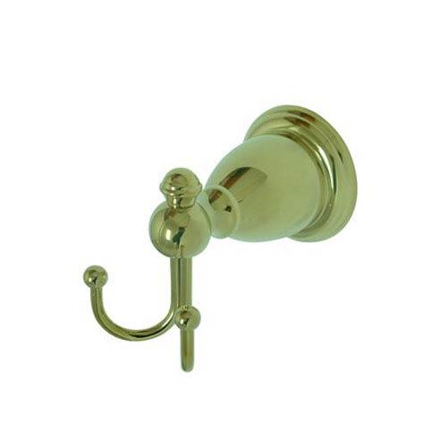Elements of Design English Vintage Polished Brass Robe Hook