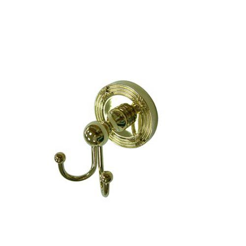 Elements of Design Georgian Polished Brass Robe Hook