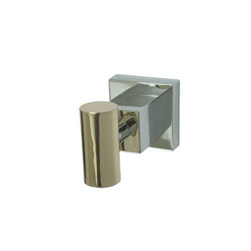 Elements of Design Claremont Chrome and Polished Brass Robe Hook