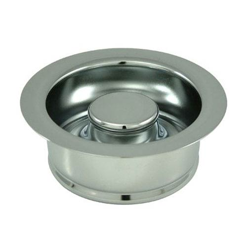 Made to Match Polished Chrome 3-1/2-Inch Garbage Disposal Flange