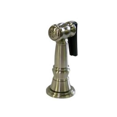 Essentials Satin Nickel Brass Kitchen Side Sprayer with 48-Inch Hose