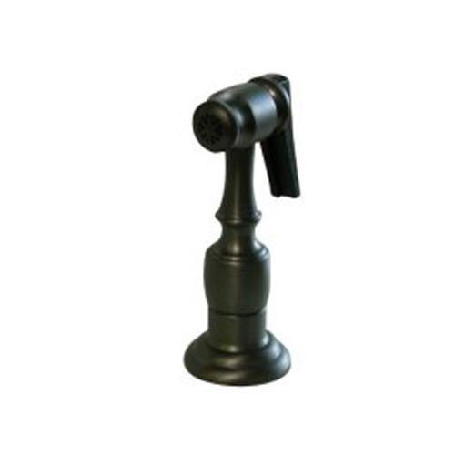 Essentials Oil Rubbed Bronze Brass Kitchen Side Sprayer with 48-Inch Hose