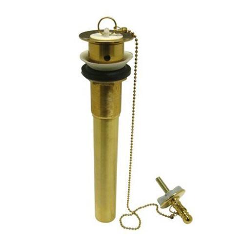 Elements of Design Polished Brass Lavatory Drain