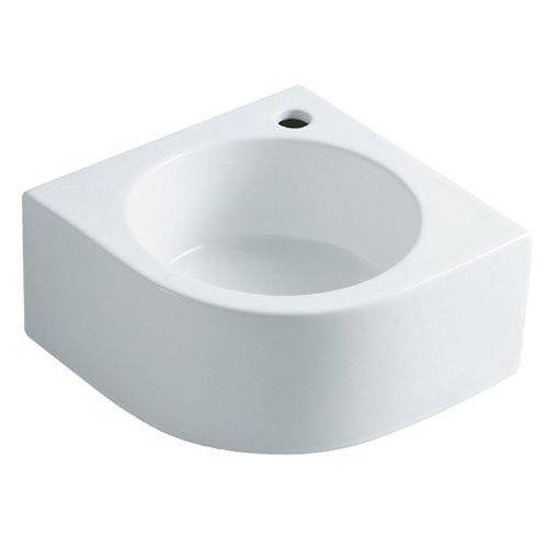 Manhattan White Vessel Sink Above Counter Wash Basin