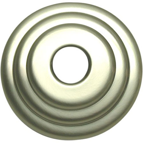 Made to Match Satin Nickel 3-Inch Diameter Decor Escutcheon