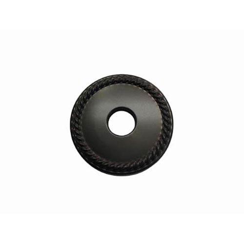 Made to Match Dark Bronze 3-Inch Diameter Rope Decor Escutcheon