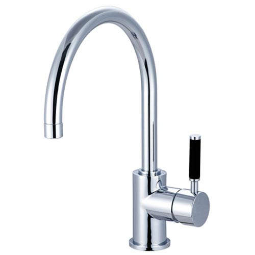 Elements of Design Nu-Vogue Polished Chrome Single Handle Vessel Sink Faucet