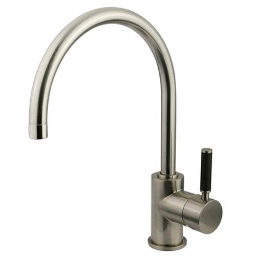 Nu-Vogue Satin Nickel Single Handle Vessel Sink Faucet