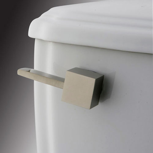 Trips Satin Nickel Toilet Tank Lever