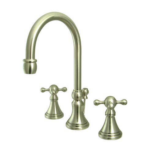 Elements Of Design Madison Satin Nickel Bathroom Faucet With Metal
