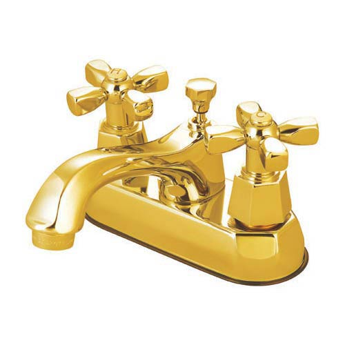 New York Polished Brass Bathroom Faucet