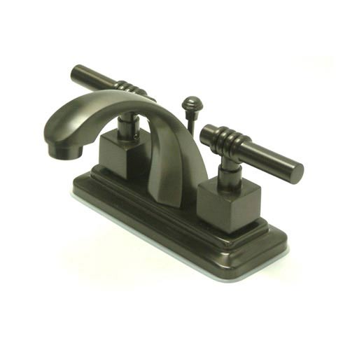 Milano Oil Rubbed Bronze Centerset Bathroom Faucet