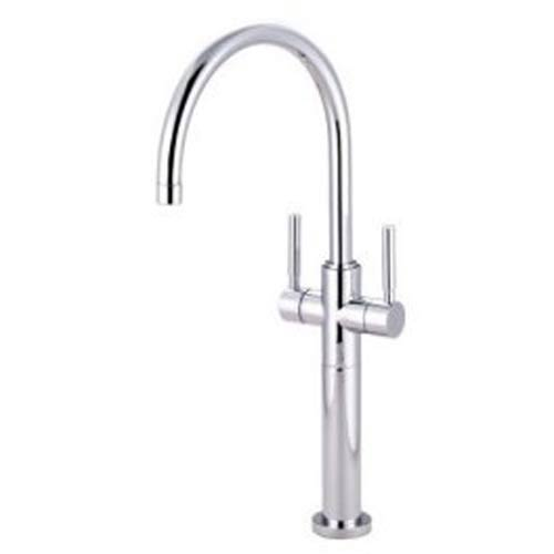 Chrome Vessel Sink Faucet with Concord Lever