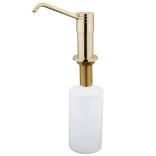 Polished Brass Decorative Soap Dispenser