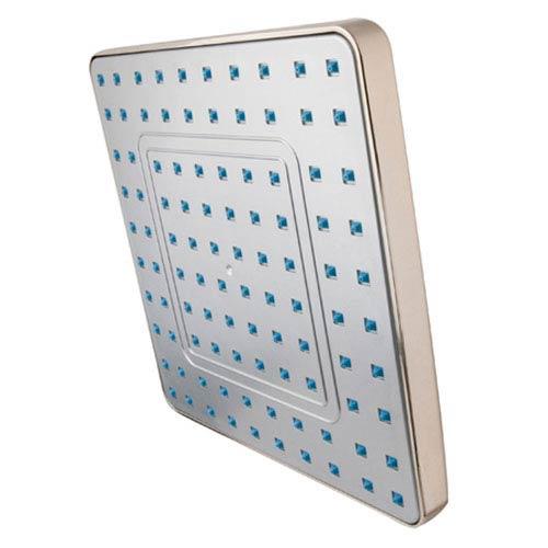 Showershapes Satin Nickel 8-Inch Square Shower Head