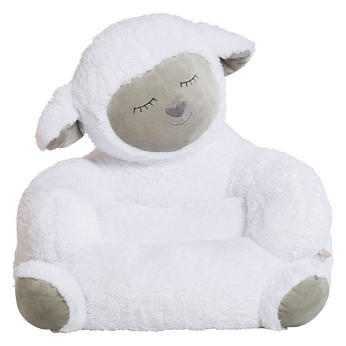Trend Lab Childrens Plush Lamb Character Chair