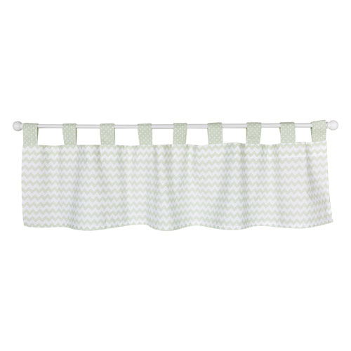 Sea Foam Window Valance