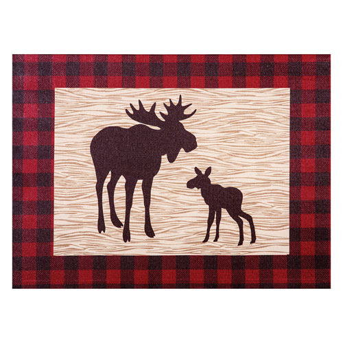 Northwoods Moose Canvas Wall Art