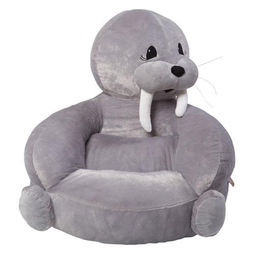 Childrens Plush Walrus Character Chair