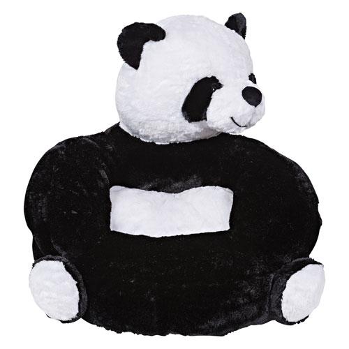 Childrens Plush Panda Character Chair